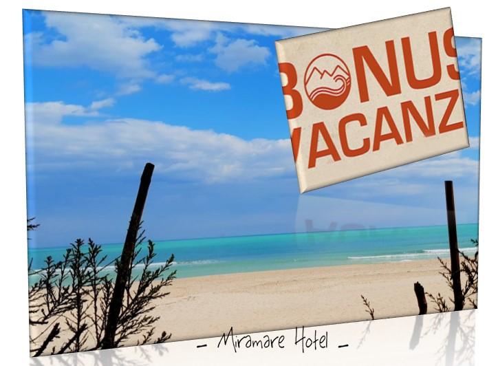 📢 … accettiamo il   👉 Bonus Vacanza 👈