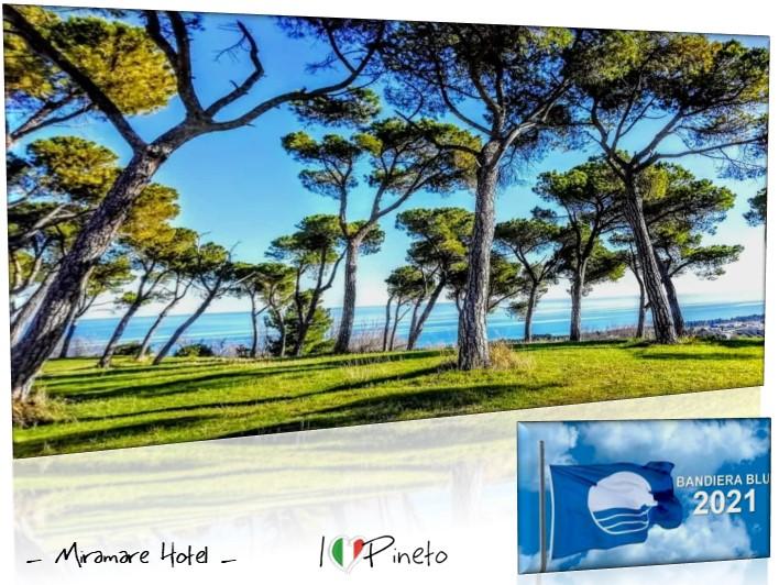 La 18^ consecutiva per Pineto … Bandiera Blu 2021